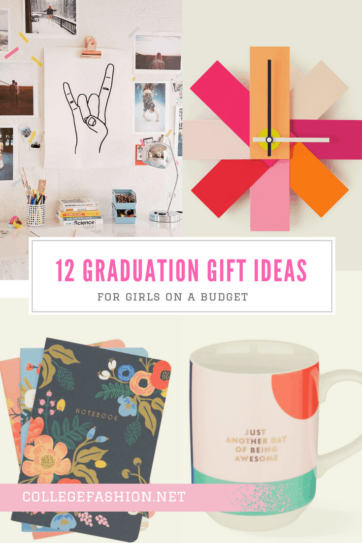 Graduation gift ideas for girls on a budget