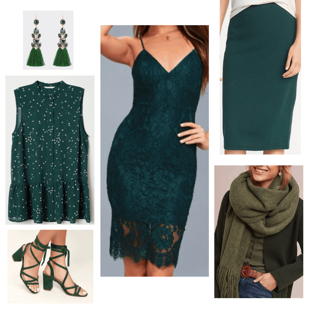 All Green Clothes and Accessories