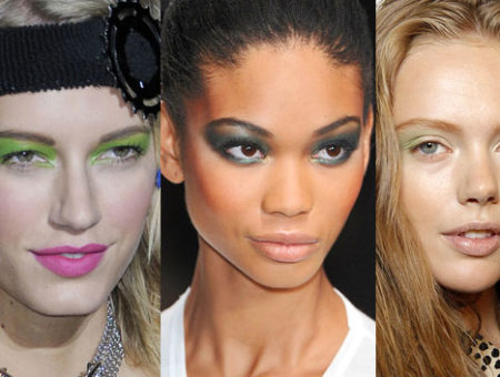 Spring 2011 Runway Green Eyeshadows