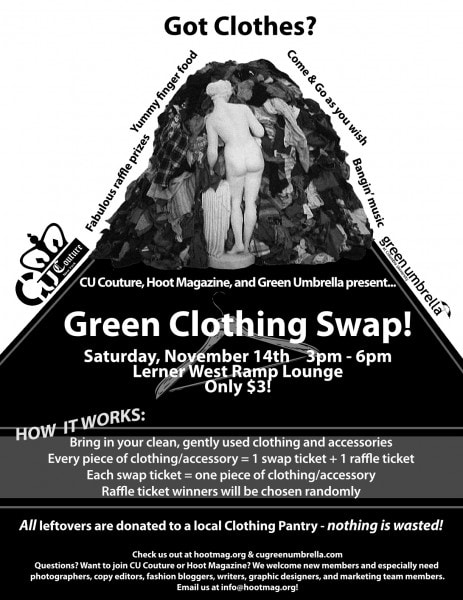 Green Clothing Swap