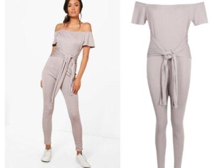Boohoo grey jumper
