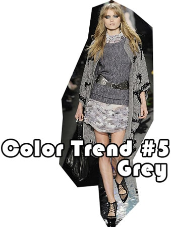 Fall 2010 color trend: grey