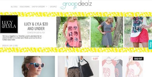 Groop dealz screenshot