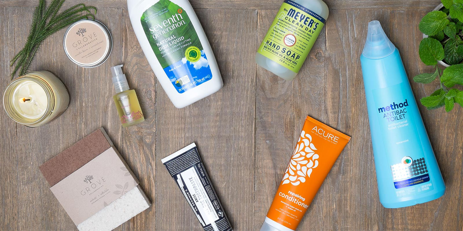 Grove collaborative subscription box cleaning supplies