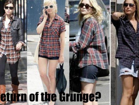 grunge flannel