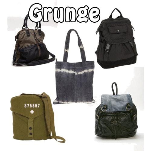 grunge beach bags
