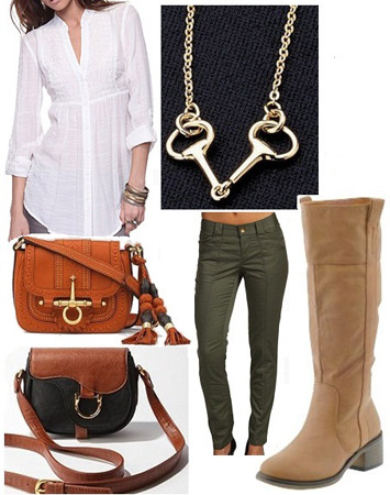 Gucci-inspired outfit