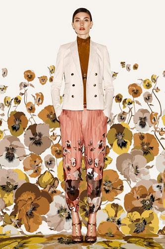 Gucci Pre-Fall 2012 Florals