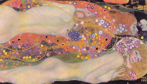 Gustav klimt water serpents