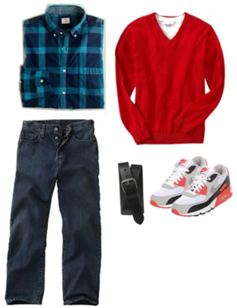 What to wear to school for guys