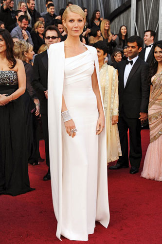 Gwyneth Paltrow in Tom Ford at the 2012 Academy Awards