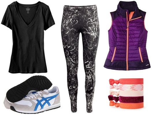 sporty outfit under $100