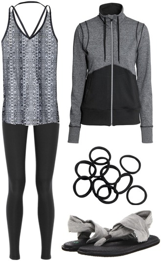 Gym to class outfit