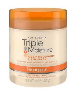 Neutrogena's Tripe Moisture Deep Recovery Hair Mask