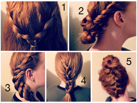 Hairstyle collage part 2
