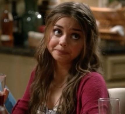 Haley from Modern Family Screenshot