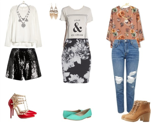 outfits that would look great with a half tuck