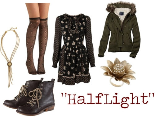 Outfit inspired by Halflight by Arcade Fire