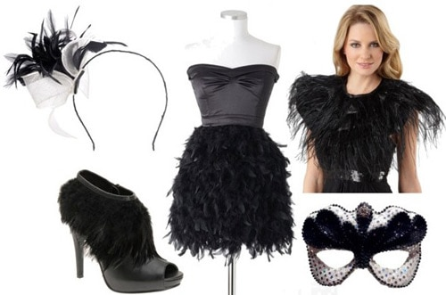 Black Bird costume for Halloween