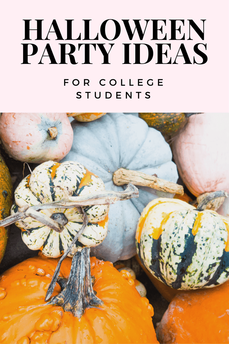 Halloween party ideas for college students