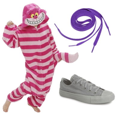 Cheshire cat Halloween outfit
