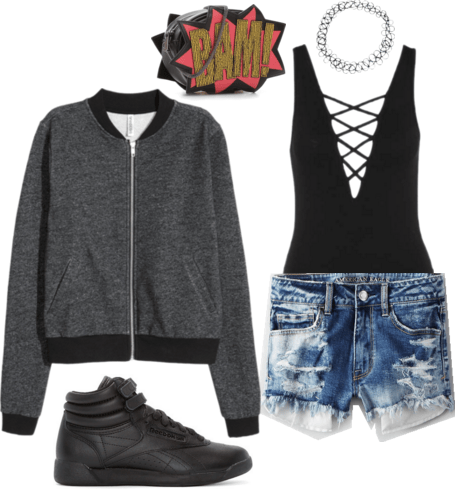 """""""Hand Up Tha Phone"""" inspired outfit"""
