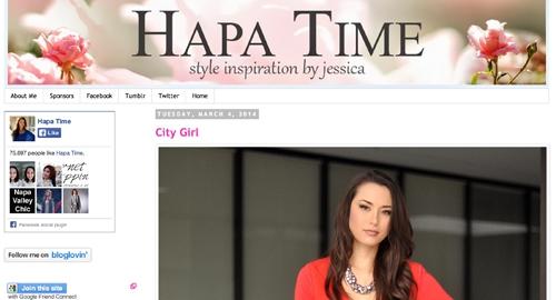 Hapatime homepage