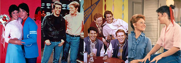 Fashion from the TV series Happy Days