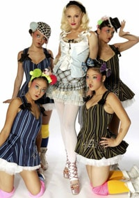 Gwen Stefani and the Harajuku Girls