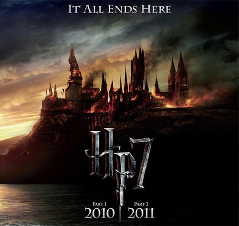 Harry Potter and the Deathly Hallows Part 1 and 2 poster