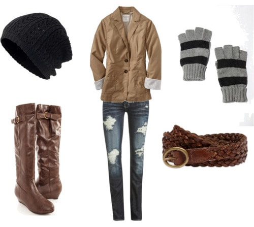 Beanie hat outfit