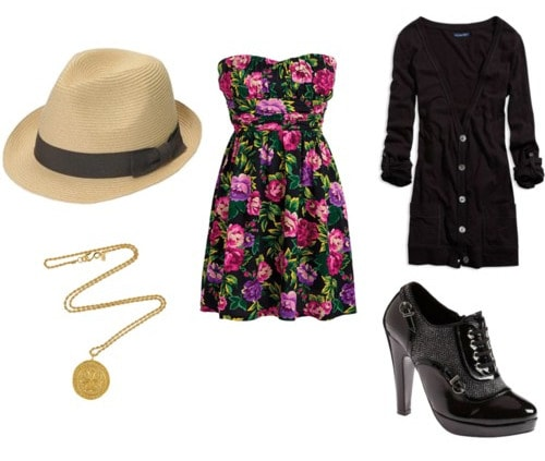 Fedora hat outfit