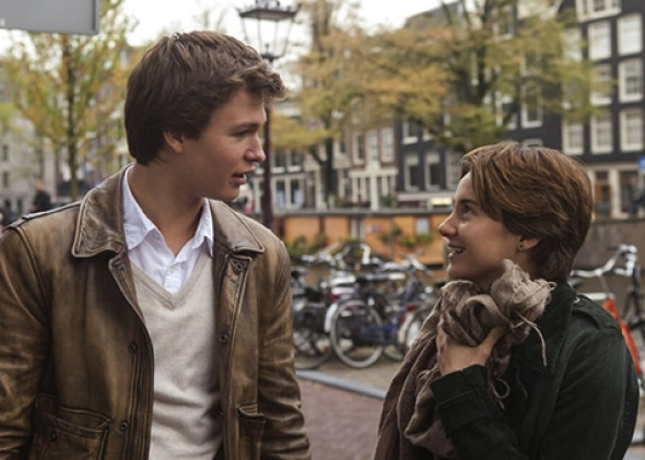 Hazel and Gus in Amsterdam - The Fault in Our Stars