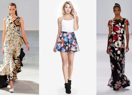 Bold Floral Prints Trend