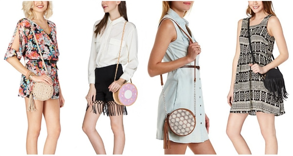 Header circle handbag