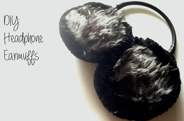 DIY earmuffs