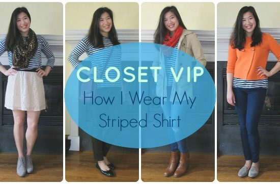 Closet VIP: How I Wear My Striped Shirt