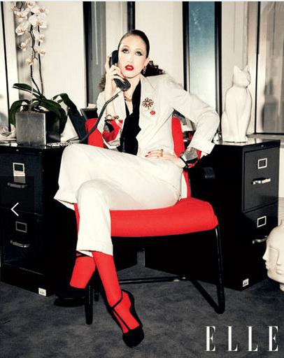 ELLE boss lady