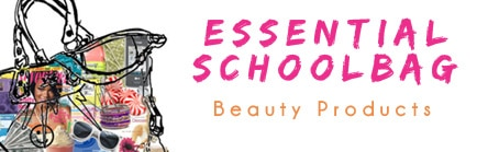 Essential beauty products to have in your school bag