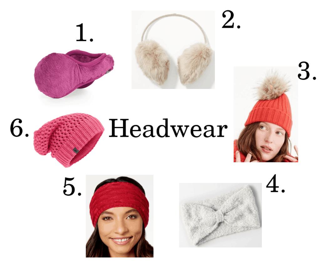 6 headwear ideas.