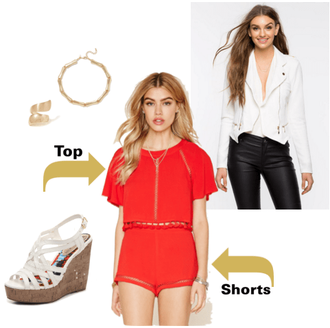"""""""Hell's Kitchen Angel"""" inspired outfit"""
