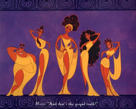 The Muses from Disney's Hercules
