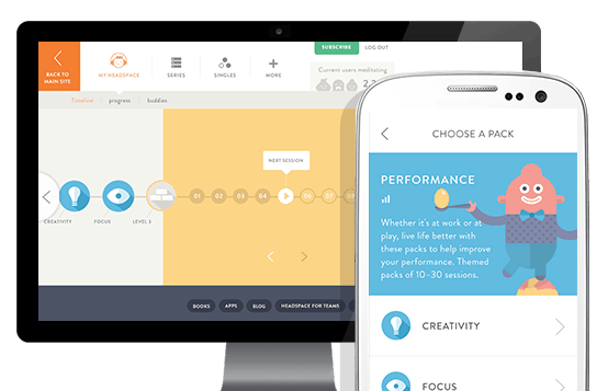 Headspace app features