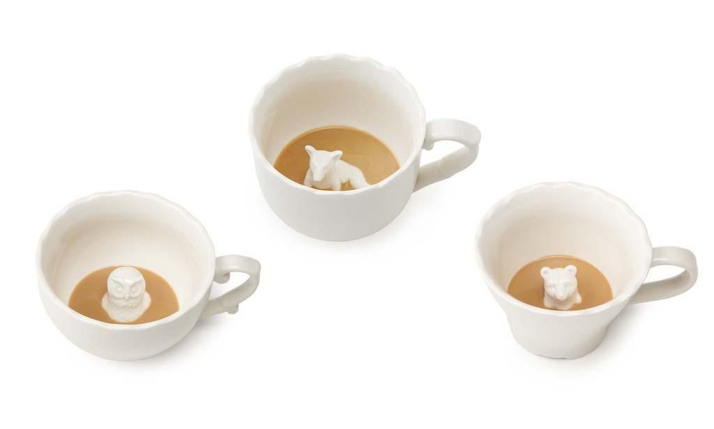Hidden Animal Coffee Mugs
