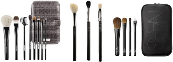 High-end makeup brushes