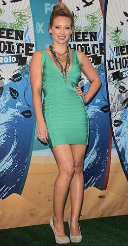 Hilary Duff at the 2010 Teen Choice Awards