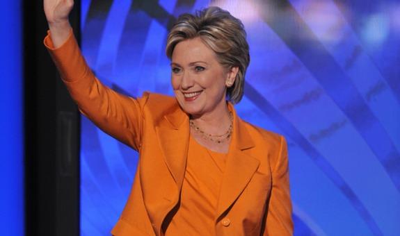 Hillary clinton monochrome