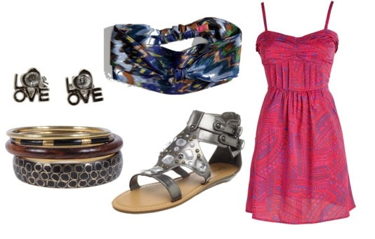 How to wear a hippie headband - outfit 2