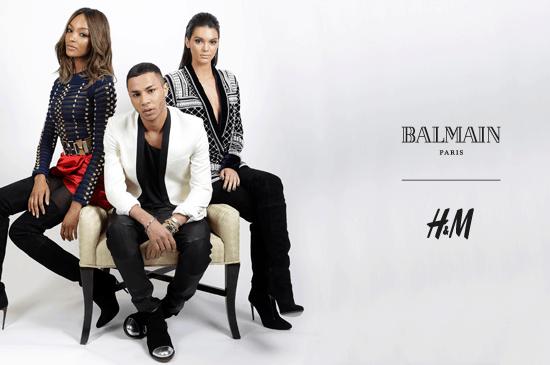 Balmain for H&M