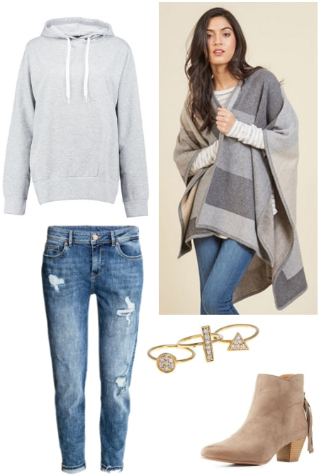 cozy cold weather fashion